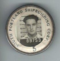 Image of South Portland Shipbuilding Corp. badge 89753