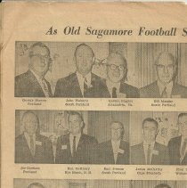 Image of Sagamores reunion news clipping, panel 1