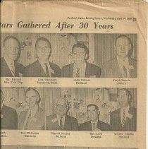 Image of Sagamores reunion news clipping, panel 2