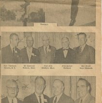 Image of Sagamores reunion news clipping, panel 4