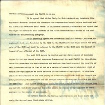 Image of Murphy football contract 1934, page 2