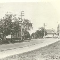 Image of Cottage and Pillsbury streets, trolley