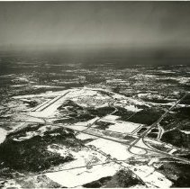Image of Unidentified aerial view 8x10