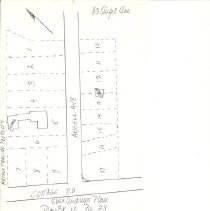 Image of Angell Avenue and Cottage Road 1902 plat