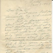 Image of Letter from Phee Russell