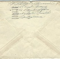 Image of 1944 envelope Phee Russell