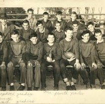 Image of Frank I. Brown School football team 1949