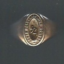 Image of SPHS Class of 1921 ring