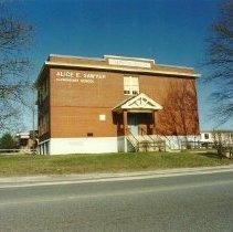 Image of Alice E. Sawyer School, color photo