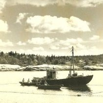 Image of Mary M. Lord, sardine carrier for the Brawn Company