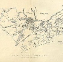 Image of Map of South Portland