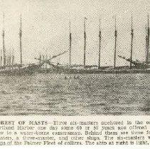 Image of Six masted schooners