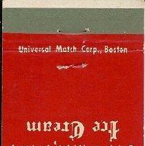Image of Hilltop Coffee Shop matchbook