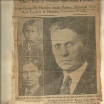 Image of Sunday Press Herald Jan 10, 1926