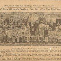 Image of Roosevelt School, 1929, 3rd grade