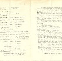 Image of 1933 Program