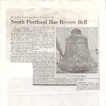 Image of Revere Bell article