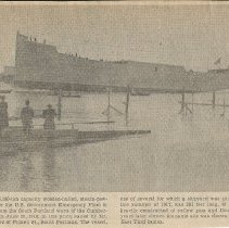 Image of Launch of the Cumberland, June 29, 1918