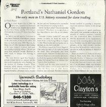 Image of Nathaniel Gordon article