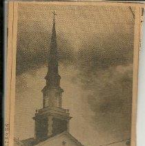 Image of Church dedication page 1