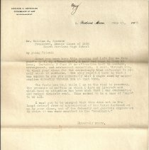 Image of Edward C. Reynolds letter