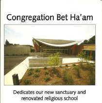 Image of 2009 Dedication Program