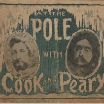 Image of At the Pole with Cook and Peary