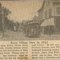 Image of Ferry Village 1915