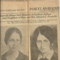 Image of Lina and Sophie Reynolds, daughters of Edward C. Reynolds