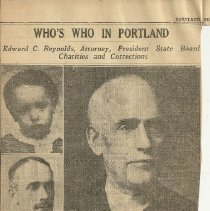 Image of Edward C. Reynolds - Who's Who in Portland