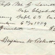 Image of 1859 Cape Elizabeth Ferry pass