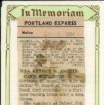 Image of Back of Prayer Card