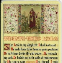 Image of Front of Prayer Card