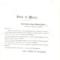 Image of Copy of letter
