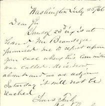 Image of Letter from John Lynch