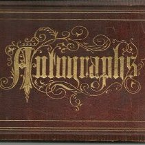 Image of Edward C Reynolds autograph book