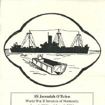 Image of S S Jeremiah O'Brien brochure