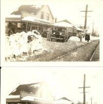 Image of Cash's Market - snow scenes