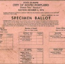 Image of Ballot