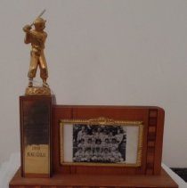 Image of King Cole baseball trophy