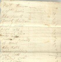 Image of List side 1