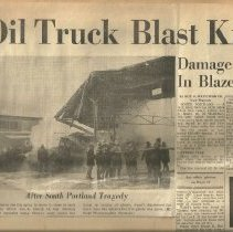 Image of Oil Truck blast