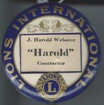 Image of 2012.135.2 - J. Harold Webster Collection