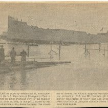 Image of ship from the Cumberland Shipbuilding Corp 1918
