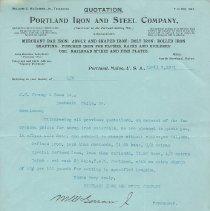 Image of Portland Iron and Steel Company
