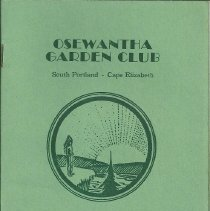 Image of Yearbook of the Osewantha Garden Club