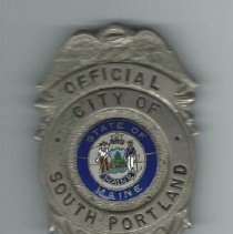 Image of Bob Ganley's city badge