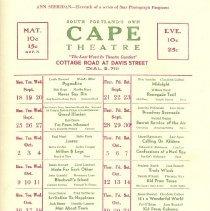 Image of Cape Theatre movie schedule