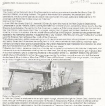 Image of National Shipyard Memorial Article