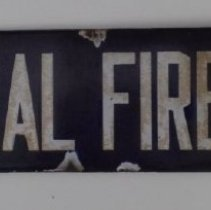 Image of Sign for Central Fire Station